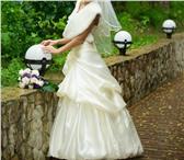Foto в Одежда и обувь Свадебные платья Продам красивое и счастливое свадебное платье в Новокузнецке 10000