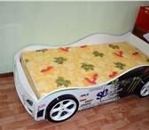 Foto в Для детей Детская мебель Внимание! Кровать машинка с пластиковым бампером в Магнитогорске 10700