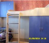 Фотография в Мебель и интерьер Мебель для детей Продам 2-х ярусную кровать с глубоким встроенным в Калуге 7000