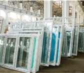 Foto в Строительство и ремонт Двери, окна, балконы Распродажа готовых окон ПВХ из 3хкамерного в Красноярске 2000