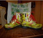 Фото в Для детей Детская обувь продам резиновые сапожки 28 р. абсолютно в Томске 750