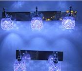 Фото в Мебель и интерьер Светильники, люстры, лампы Светильник настенный с светодиодной подсветкой. в Ижевске 0