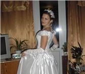 Foto в Одежда и обувь Свадебные платья Продам свадебное платье:цвет белый,   размер в Москве 6000