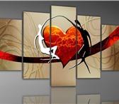 Фотография в Мебель и интерьер Антиквариат, предметы искусства Модульные сборные картины с доставкой по в Москве 0