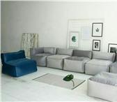 Foto в Мебель и интерьер Мебель для гостиной Бескаркасный модульный диван состоит из 7 в Санкт-Петербурге 34000