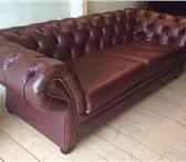 Фотография в Мебель и интерьер Мягкая мебель Кожаный диван-кровать Chester, новый. Пр-во в Москве 80000