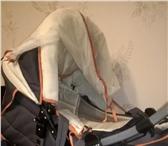Фотография в Для детей Детские коляски Продам коляску серо-оранжевого цвета, в хорошем в Томске 2500