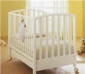 Фотография в Для детей Детская мебель Кроватка MIBB Ciop- 4 колеса,  2 из них с в Воронеже 12800