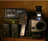 Foto в Электроника и техника Видеокамеры Куплю видеокамеру Sony,  Hitachi Video-8, в Москве 3000
