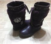 Foto в Для детей Детская обувь продам б.у.сапоги зимние детские антилопа,35 в Ульяновске 1000