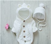Фото в Для детей Детская одежда Продаю детский вязаный комплект (комбинезон в Москве 2300