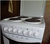 Foto в Электроника и техника Плиты, духовки, панели Продаю электрическую плиту Индезит в хорошем в Омске 10000