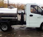 Изображение в Авторынок Автоцистерна пищевая Молоковоз (водовоз) на шасси Газель Некст в Москве 1210000