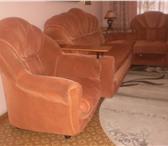Foto в Мебель и интерьер Мебель для гостиной Продаю мягкий угловой,раздвижной диван+кресло в Омске 4000