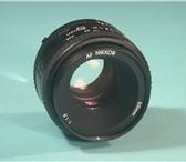 Изображение в Электроника и техника Фотокамеры и фото техника новый фотообъектив Nikkor AF 50mm f/1.8 N. в Тамбове 1500