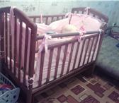 Фотография в Для детей Детская мебель детскую кроватку-маятник,в отличном состоянии,бортики в Оренбурге 3500