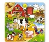 Foto в Для детей Детские игрушки Рамка-вкладыш «Ферма»Деревянные игрушки созданы в Воронеже 191