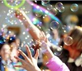 Фотография в Развлечения и досуг Организация праздников Шоу гигантских мыльных пузырей удивительное, в Курске 700