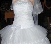 Foto в Одежда и обувь Разное Продаю свадебное платье, белое.Размер:44-46.И в Чебоксарах 0