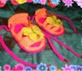 Изображение в Для детей Детская обувь Вяжу пинетки на заказ для ваших малышей. в Улан-Удэ 150