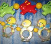 Фотография в Для детей Детские игрушки продам подвески-погремушки в хорошем состоянии в Томске 100