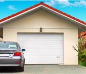 Фотография в Строительство и ремонт Строительные материалы Автоматические гаражные секционные ворота, в Самаре 0