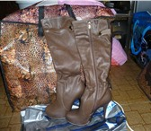Foto в Одежда и обувь Женская обувь Продам женские сапоги. В наличии 35, 36, в Москве 2300